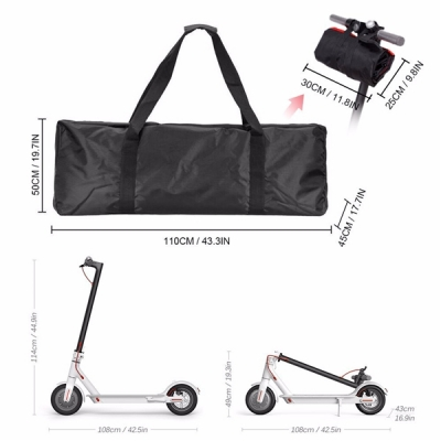 Waterproof Scooter Carrying Handbag Backpack Bag for Xiaomi M365